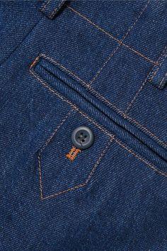 Fashion Sewing, Denim Fashion, Paris Fashion, Sewing Pockets, Denim Ideas, Alaia, Pocket Detail, Latest Fashion For Women, Fashion Details