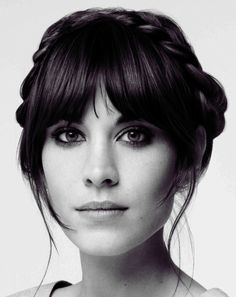 We wish we could pull off this hairstyle like Alexa Chung. Frankly, milkmaid braids can look a little weird on most people!