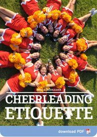Cheerleading Etiquette - not a sport? Give me 2 minutes and 30 seconds and I'll prove you wrong....