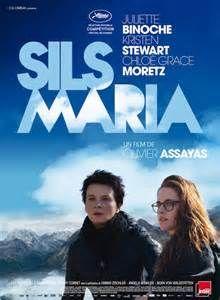 Sils Maria (en anglais : Clouds of Sils Maria) est un film dramatique franco-germano-suisse écrit et réalisé par Olivier Assayas et sorti en 2014. https://fr.wikipedia.org/wiki/Sils_Maria_(film)