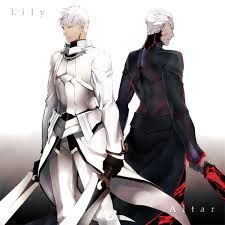 fate/stay night archer (lilly and dark)