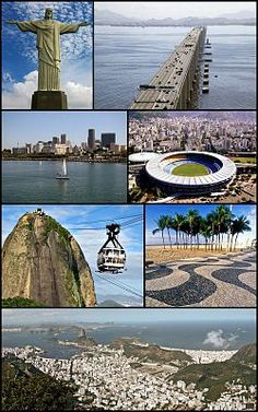 USA Todays 7 Wonders of World -Rio de Janeiro, 2nd largest city of Brazil, capital of Brazil for nearly 2 centuries during Portuguese colonial era 1763-1815. 6of15