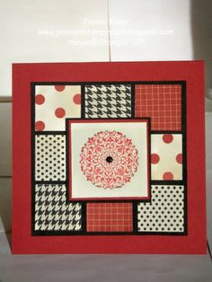 SUO-PPA#70 Artistic Etchings with Love Letter DSP by CraftyJennie - Cards and Paper Crafts at Splitcoaststampers