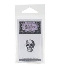 Paper Parachute Cling Rubber Stamps-Tiny Skull Online Craft Store, Craft Stores, Joann Fabrics, Fabric Crafts, Skull, Scrapbook, Quilts, Sewing, Knitting