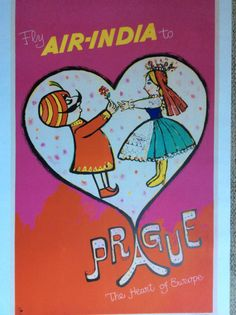 Fly Air-India to Prague - The Heart of Europe