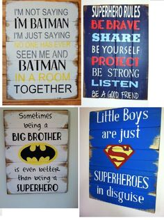 Find all your superhero signs here kids decor, boys room decor, home decor, Superhero Signs, Superhero Room, Batman Room, Superhero Alphabet, Superhero Party, Nerd, Kids Decor, Decor Ideas, Decorating Ideas
