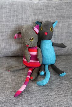 diy stuffed animals - idea