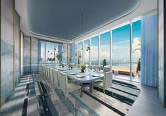 Discover the very best of luxury living in Miami. Get coverage of the hottest parties, restaurants, bars, fashion and things to do in Miami. Ely, Private Dining Room, Dining Rooms, Condos For Rent, Luxury Real Estate, Luxury Life, Luxury Living, Interiores Design, Luxury Homes