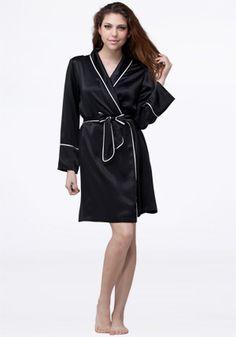 women's bath robes | home / silk nightwear / women's / pajamas / women's silk pyjamas-set ...