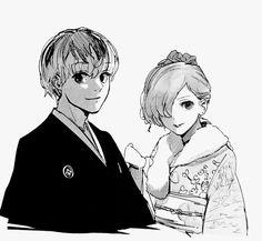 Sasaki & Touka   Tokyo Ghoul
