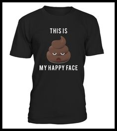 Funny Saying Poop Emoji T Shirt (*Partner Link)