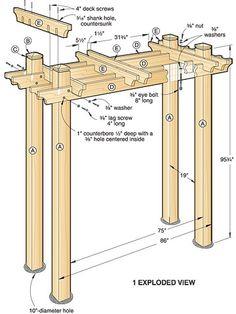 Buy 19 Garden Trellis Plans at Woodcraft - Woodworking Plans