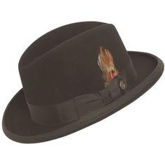 Stetson Homburg Hat More Sombreros Hombre 2bd57f3f99f