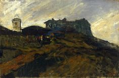 Marià Fortuny - A House on the Spanish Countryside, 1874