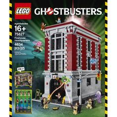 LEGO Ghostbusters building toys are compatible with all LEGO construction sets for creative building. Featuring settings and characters from the 1984 Ghostbusters movie. Ghostbusters Theme, Ghostbusters Firehouse, Lego Building, Huge Lego Sets, Best Lego Sets, Legos, Die Geisterjäger, Lego Construction, Shopping
