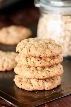 The Best Oatmeal Cookies. The Best Oatmeal Cookies - bring together great thickness soft and chewy middles great texture and fantastic flavor! Old Fashioned Oatmeal Cookies, Best Oatmeal Cookies, Cinnamon Roll Cookies, Oatmeal Cookie Recipes, Raisin Cookies, Chip Cookies, Shortbread Cookies, Crazy Cookies, Most Delicious Recipe