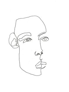 39 Best Blind Contour Portraits by Allison Kunath images