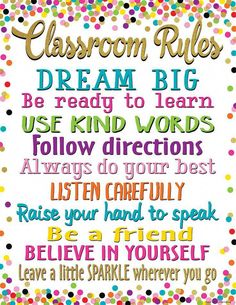 Convenient, useful learning tools that decorate as they educate! Each chart measures 17 by Related lessons and activities are provided on the back of every chart. Convenient, useful learning tools that decorate as they educate! Each chart measures 17 Classroom Rules Poster, Classroom Charts, Classroom Quotes, Classroom Bulletin Boards, Classroom Displays, Classroom Themes, School Classroom, Classroom Organization, Classroom Management