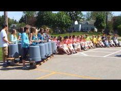 The Camel (bucket drumming)