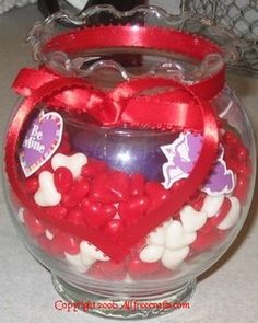 How to Make a Valentine Candy Candle
