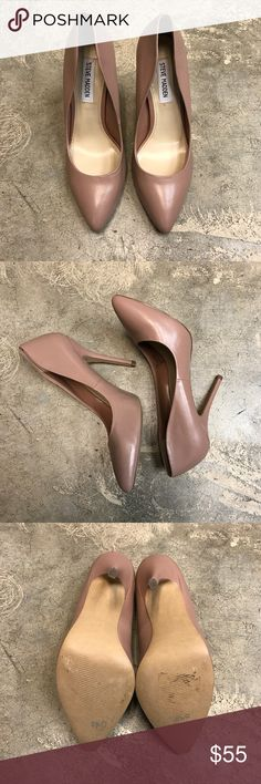 """Steve Madden Light Pink Galleryy Pumps NWOT Greet Spring with these gorgeous light pink pumps! 4"""" heel NWOT perfect condition! Steve Madden Shoes Heels"""