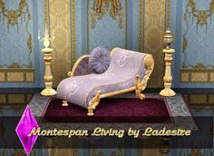 My Sims 3 Blog: Montespan Living Set by Ladesire
