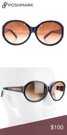 356bdb0b026 Karen Walker Harpo Sunglasses Blue resin Karen Walker oversize Harpo  sunglasses with gradient lenses. Includes