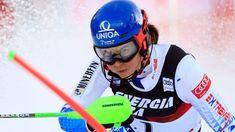 Slovakian skier Petra Vlhova has ended the almost year long winning streak of Mikaela Shiffrin in the slalom in Croatia⛷️ Mikaela Shiffrin, Losing Her, Petra, World Cup, Croatia, Skiing, Ski, World Cup Fixtures