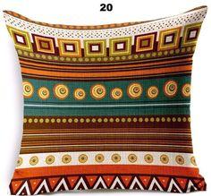 Rhapsody Geometric Woven Pillow Cover - 22 Colors