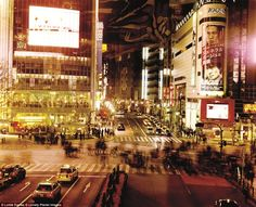 Among the top countries to visit in the upcoming year is Japan, where tourists can visit the famed Shibuya Crossing, nicknamed 'The Scramble' for a reason