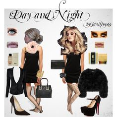 """Day and Night"" by jowilson69 on Polyvore"