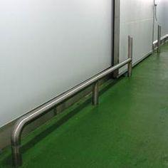 Australian Bollards - Factory/Warehouse Type - Floor Mounted Bump Rails  http://www.bumprails.com.au/