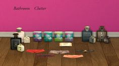 CC FOR SIMS 4: BATHROOM CLUTTER