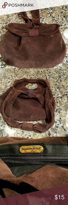 Vintage Jacqueline Ferrar Suede Bag I love this bag but have never used it.   Vintage in excellent condition.  Non smoking home. Jacqueline Ferrar Bags
