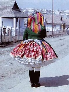 Costume from Hungary, photo: Zólyomi József Folklore, Folk Costume, Costumes, Hungarian Embroidery, Fashion Prints, Fashion Design, Culture, Victor Hugo, Lolita Dress