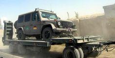 """Auch die Bundeswehr zieht es vor, ihr Material nicht komplett den Afghanen zu überlassen – 60 Fahrzeuge vom Typ """"Wolf"""" hat sie an die Mongolei verschenkt. Ich würde mich darüber auch freuen ..."""