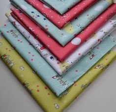 Fat Quarter Fabric Bundle /Enchant Fabric/ Riley by RunnStitch