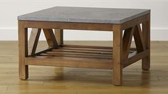 Bluestone Coffee Table at Crate and Barrel