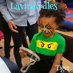 It is all about this face   He must have run back 15 times to look at himself in the mirror   #tempoarytattoos #tattootransfer #christmas #beautiful #lipstick #Lavindoodles #facepainting #facepaint #birthday #birthdayparty #partybag #facedesign #tiaras #crown #pamperedprincesses #allaboutthekids #glitterhair #tattoos #nails #nailvarnish #minimani #glittertattoos #mendhimagic #henna #hennatattoo #glitterandtwisted #glitterfaces #festivalface #glitterface