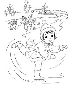 Seasons Of The Year Coloring Pages