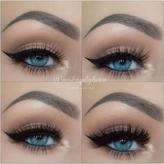 Lashes can make all the difference. The first and second are my faves.