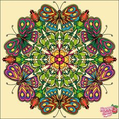 Coloring Apps, Colouring Pages, Adult Coloring, Ipad, Happy Colors, Paint By Number, Texture Design, Neon Colors, Mandala Art