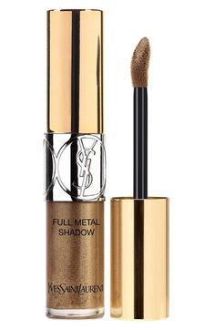 2 new shades of Yves Saint Laurent Full Metal Shadow Metallic Color Liquid Eyeshadow for summer 2016 Savage Summer collection