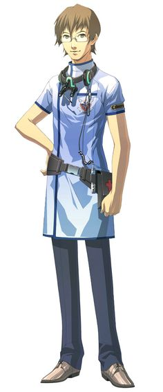 Hungry Whispers: Yu / Trauma Center: Second Opinion. Derek Stiles character ref