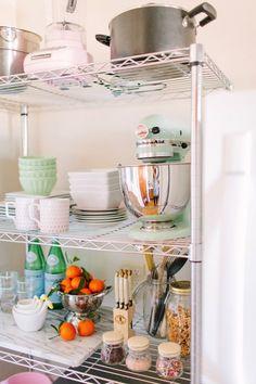 13 best metal shelving units images kitchen storage diy ideas for rh pinterest com
