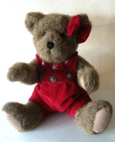 Boyds Jointed Christmas Brown Bear