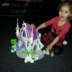 2 hours and over 10,000 pieces later and it's done. #playmobil Princess Castle. Merry fucking Christmas!