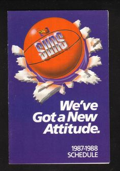 1987-88 Phoenix Suns Schedule--Budweiser | Sports Mem, Cards & Fan Shop, Vintage Sports Memorabilia, Schedules | eBay!