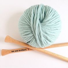 Knit with Aqua Wool is the best !