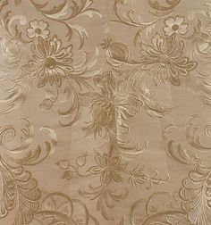 1873-75 Dress - silk damask